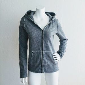 J. Crew Gray Grey Hood Sweatshirt